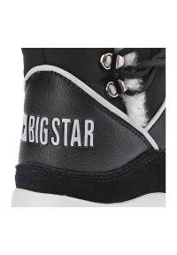 Big-Star - Botki BIG STAR II274279 Czarny. Kolor: czarny. Materiał: zamsz, futro, syntetyk. Szerokość cholewki: normalna. Sezon: zima. Obcas: na platformie. Styl: elegancki
