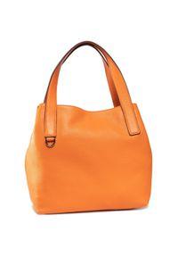 Pomarańczowa torebka klasyczna Coccinelle klasyczna