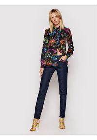 Versace Jeans Couture Koszula Twill VI Print Baroque Bijoux 71HAL201 Kolorowy Regular Fit. Wzór: nadruk, kolorowy
