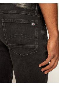Czarne spodenki jeansowe Tommy Jeans