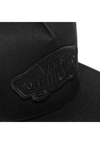 Vans - Czapka z daszkiem VANS - Classic Patch S VN000TLSBKA1 Black/Black. Kolor: czarny. Materiał: materiał, bawełna #5