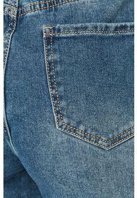 Niebieskie jeansy loose fit Answear Lab z podwyższonym stanem, wakacyjne #4