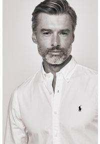 Biała koszula Polo Ralph Lauren długa, na co dzień, casualowa, polo