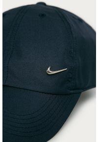 Niebieska czapka z daszkiem Nike Kids
