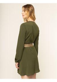 Zielona sukienka Liu Jo casualowa, na co dzień