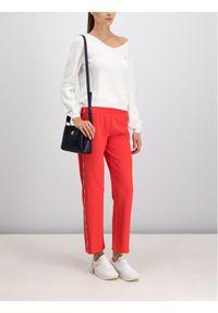 Czerwone spodnie materiałowe Tommy Jeans