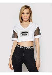 LABELLAMAFIA - LaBellaMafia Bluzka 21388 Biały Regular Fit. Kolor: biały