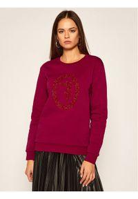 Czerwona bluza Trussardi Jeans