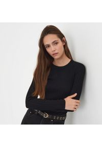 Sinsay - Sweter - Czarny. Kolor: czarny