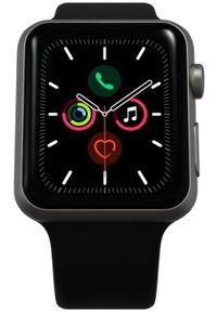 Apple Refurbished smartwatch Watch Series 5, 40mm Space Gray Aluminium Case with Black Sport Band. Rodzaj zegarka: smartwatch. Kolor: szary. Styl: sportowy