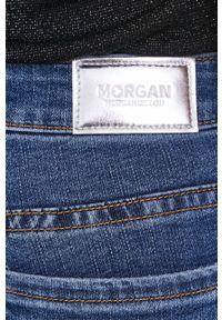 Morgan - Jeansy. Kolor: niebieski