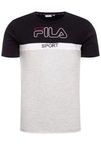 Szary t-shirt Fila