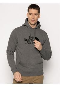 The North Face Bluza Drew Peak Pul Hoodie NF00AHJYLXS1 Szary Regular Fit. Kolor: szary