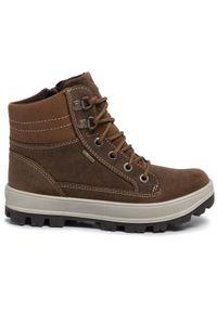 Brązowe buty zimowe Superfit