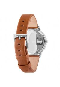Brązowy zegarek DKNY