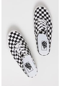Vans - Klapki. Nosek buta: okrągły. Kolor: czarny. Materiał: guma