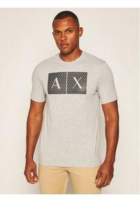 Armani Exchange T-Shirt 8NZTCK Z8H4Z 3929 Szary Slim Fit. Kolor: szary