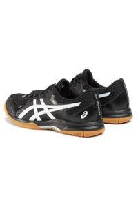 Czarne buty treningowe Asics z cholewką