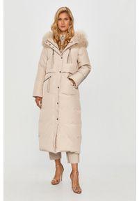 Beżowa kurtka MAX&Co. z kapturem