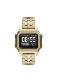 Złoty zegarek Armani Exchange