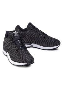 Czarne sneakersy Adidas Adidas ZX, z cholewką