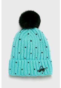 Turkusowa czapka Viking