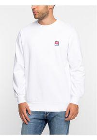 Diesel Bluza S-Gir-Div-P 00S556 0IAJH Biały Regular Fit. Kolor: biały