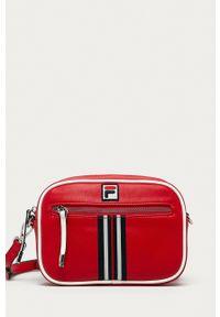 Fila - Torebka. Kolor: czerwony. Rodzaj torebki: na ramię
