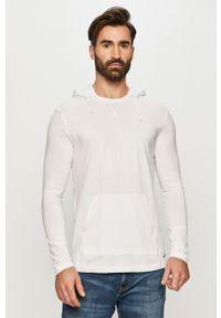Biała bluza nierozpinana Brave Soul casualowa, na co dzień, z kapturem