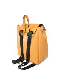 Żółty plecak Puccini klasyczny