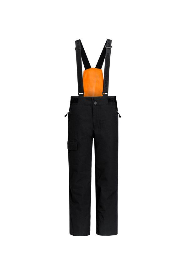 Czarne spodnie narciarskie Descente