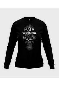 MegaKoszulki - Bluza damska taliowana Wredna