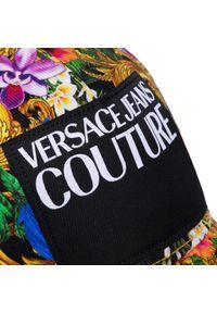 Żółta czapka z daszkiem Versace Jeans Couture