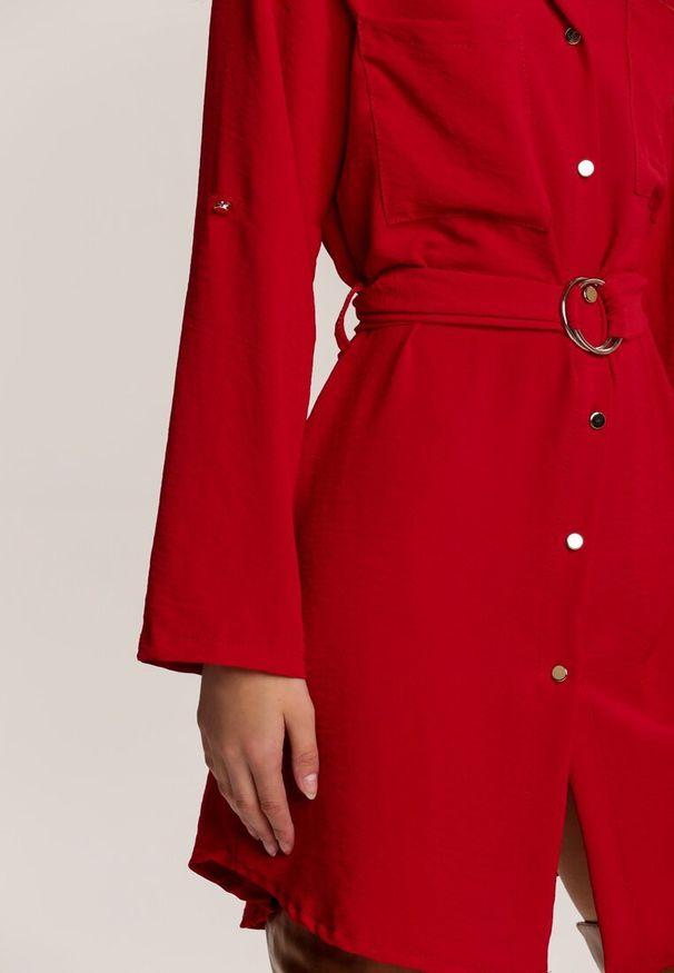 Czerwona sukienka mini Renee