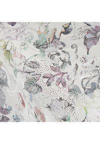 Białe botki R.Polański w kwiaty
