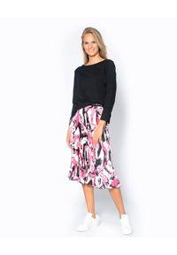 Deha - DEHA - Bluzka z długim rękawem. Okazja: na co dzień. Kolor: czarny. Materiał: jeans, bawełna. Długość rękawa: długi rękaw. Długość: długie. Styl: klasyczny, casual