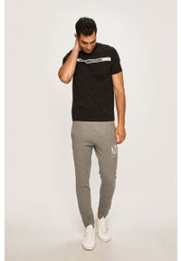 Szare spodnie dresowe Armani Exchange #4
