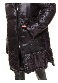 Czarna kurtka TOP SECRET długa #7