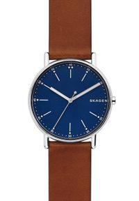 Skagen - Zegarek SKW6355. Materiał: skóra, materiał