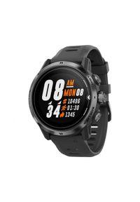 COROS - Zegarek do biegania z gps Coros Apex Pro Black. Materiał: materiał