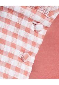 ALICE MCCALL - Koszula w kratę Her Story. Kolor: biały. Materiał: materiał. Długość rękawa: długi rękaw. Długość: długie. Wzór: kratka. Sezon: lato. Styl: klasyczny, elegancki