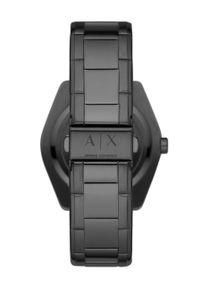 Armani Exchange - Zegarek AX2858. Kolor: czarny. Materiał: materiał