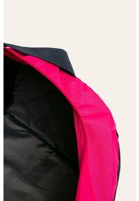 Niebieska torba podróżna Reebok z nadrukiem, sportowa
