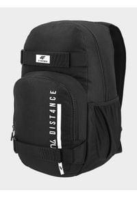 4f - Plecak miejski. Kolor: czarny. Materiał: poliester