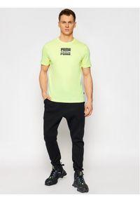 Żółty t-shirt Puma
