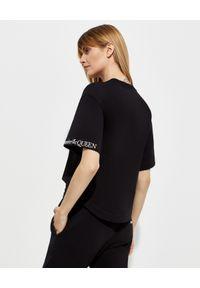 Czarny t-shirt Alexander McQueen