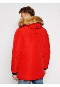 Superdry Kurtka zimowa Everest M5010204A Czerwony Regular Fit. Kolor: czerwony. Sezon: zima #3