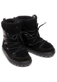 Czarne śniegowce Bogner
