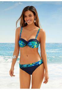 Figi bikini bonprix ciemnoniebieski. Kolor: niebieski