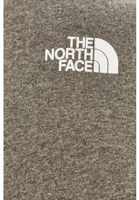 The North Face - Bluza. Okazja: na co dzień. Kolor: szary. Wzór: nadruk. Styl: casual